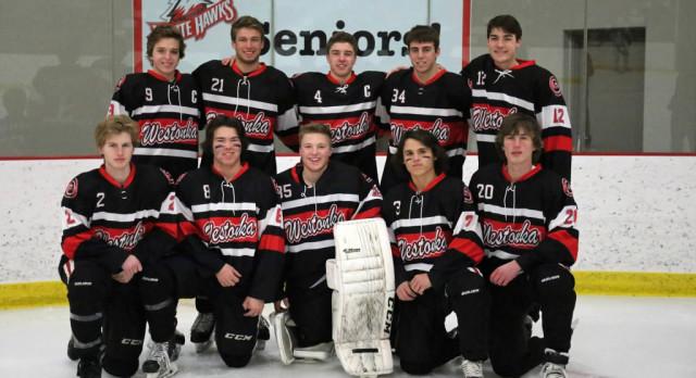 Boys Hockey Celebrates Seniors