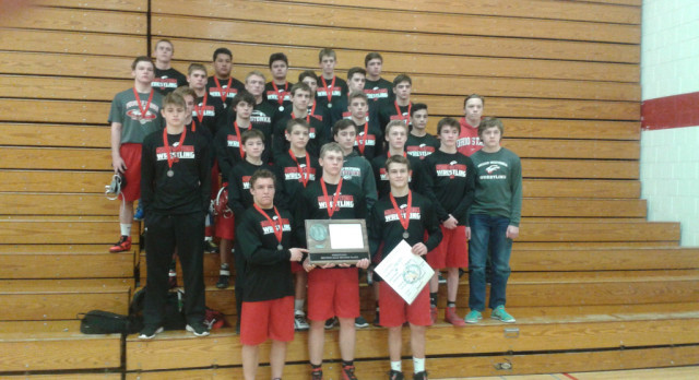 White Hawks Wrestlers Section Runners-Up