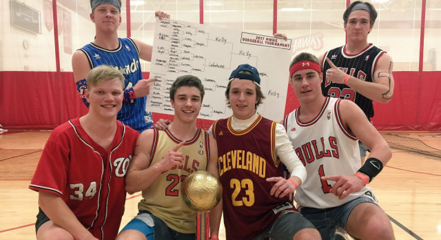 20 Teams Compete for Coveted Dodgeball Trophy