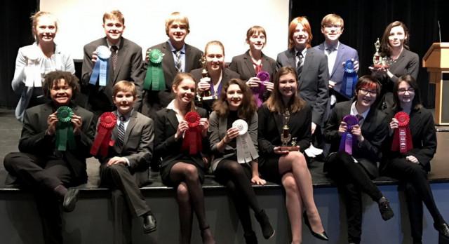 Westonka Speech Takes Fourth at Hilke Invite