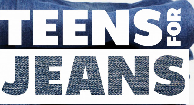 Student Senate to Host Teens for Jeans Drive