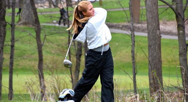 Girls Golf Drives on Through the Season