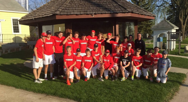 Thirteen Wins, Zero Losses for MWHS Boys Tennis