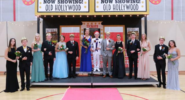 Hackbarth, Ogreen Crowned at MWHS Prom