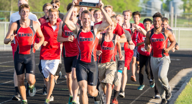 MWHS Boys Track Wins Back-to-Back Conference Championships