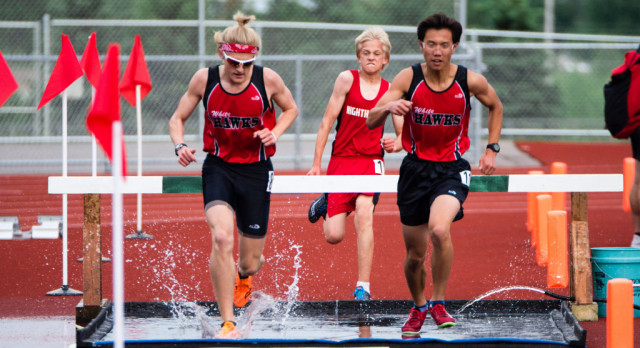 White Hawks Compete in Last Chance Track Meet