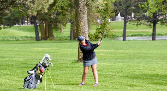 Girls Golf Shines at Pre-Section Meet
