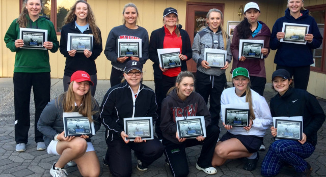 Two White Hawks Golfers Named All-Conference