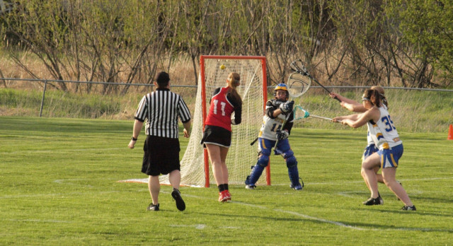 Burris Gets Hat Trick in Loss to St. Michael-Albertville