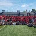 2017 Augustana Football Team Camp