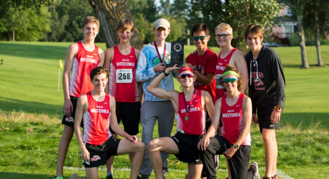 Boys Cross Country Takes First at Sherstad Invite