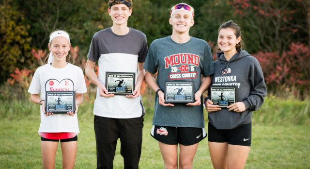 Four White Hawks Runners Earn All-Conference Honors