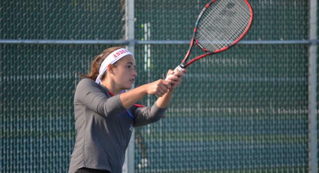 Girls Tennis Has Busiest Week of Season