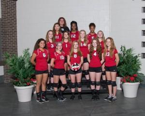 Freshman Volleyball 2016-17