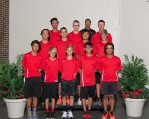 Varsity Boys Tennis 2016-17