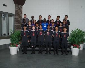 Freshman Boys Soccer 2016-17