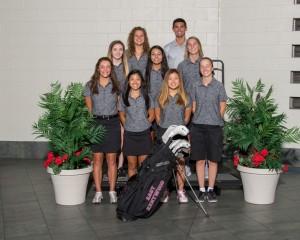 Varsity Girls Golf 2016-17