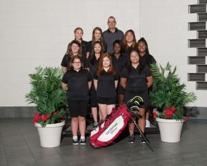 JV Girls Golf 2016-17