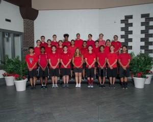 JV Boys Tennis 2016-17