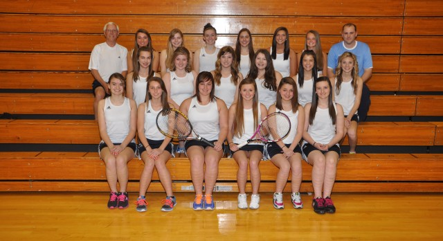 Girls Tennis Team –  Academic All State