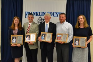2015 FCHS Athletic Hall of Fame Inductees