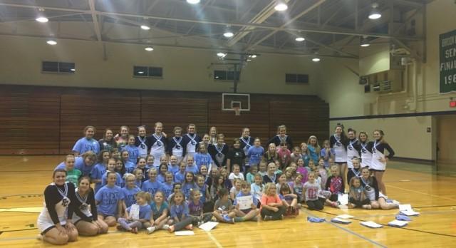 FCHS Cheerleaders Host Clinic