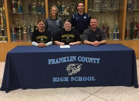 Taylor Erfman Commits to Manchester!!