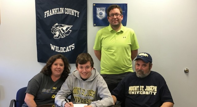 Jake Surber Signs with Mount St. Joseph's