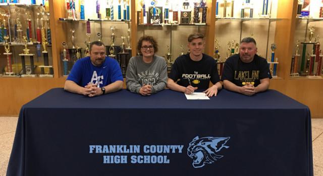 Johnathan Hagerty signs with Lakeland University!