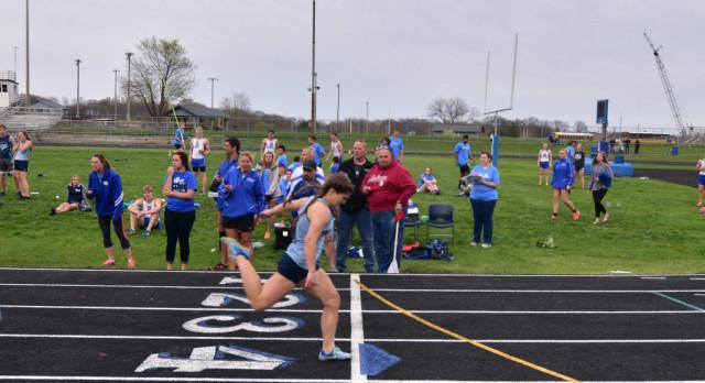 Grace Noble Breaks School Record