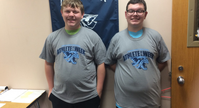 "Athletes of the Week: Bradley Burger and ""Sugar"" Shane Bauman"