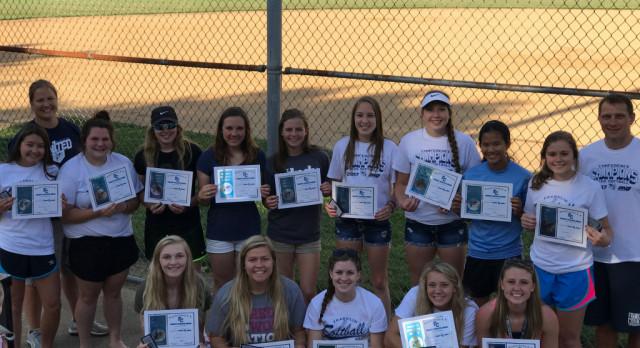 Girls Softball End Of Year Banquet