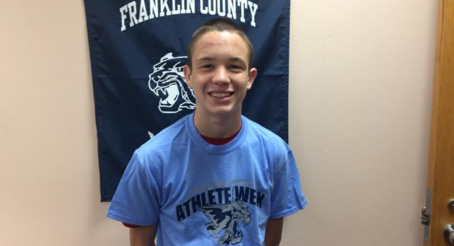 Athlete of the Week: Tanner Lainhart (9-27-17)