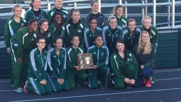 2015 Nordonia Girls Track District Champions
