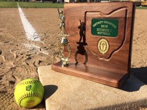 2015 Nordonia Softball District Trophy