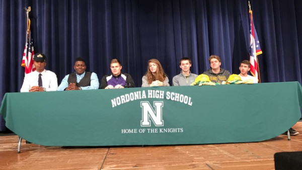 2017 Nordonia High School College Signees