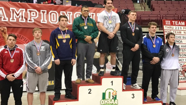 Anthony Perrine State Champ