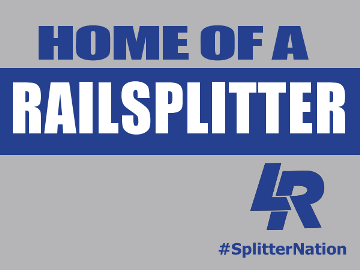 HOME OF A RAILSPLITTER YARD SIGNS!