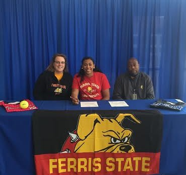 Dana Anderson Signs with Ferris State!