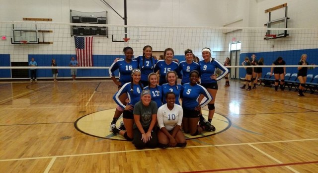 JV Volleyball Takes 1st in Silver Bracket!