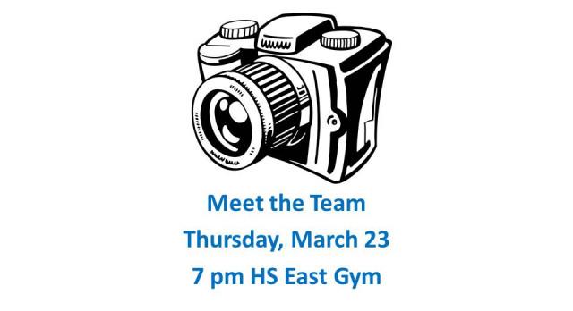 Spring 2017 HS Meet the Team Event