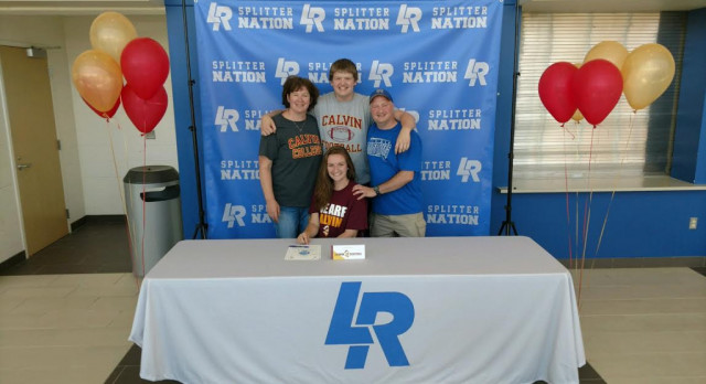 Lake MacKenzie Signs with Calvin College!