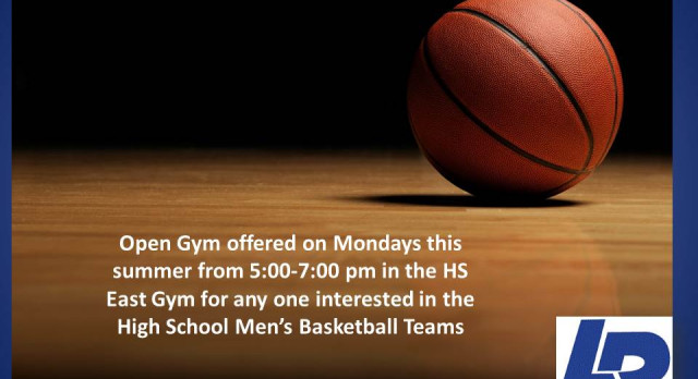 HS Men's Basketball Summer Open Gym