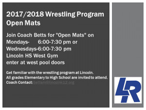 Wrestling Program at Lincoln