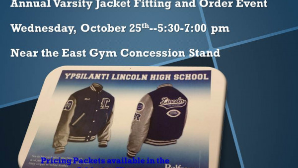 Varsity Jacket Fitting and Order Event