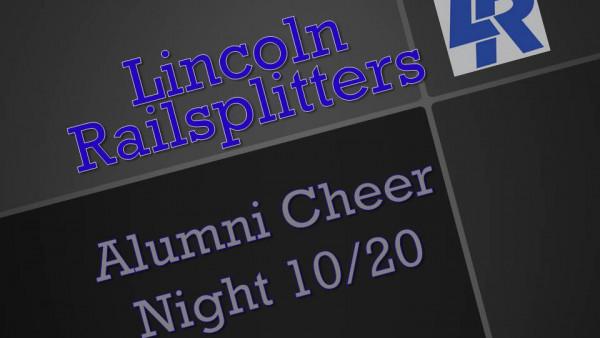 Lincoln Cheer Night Slide