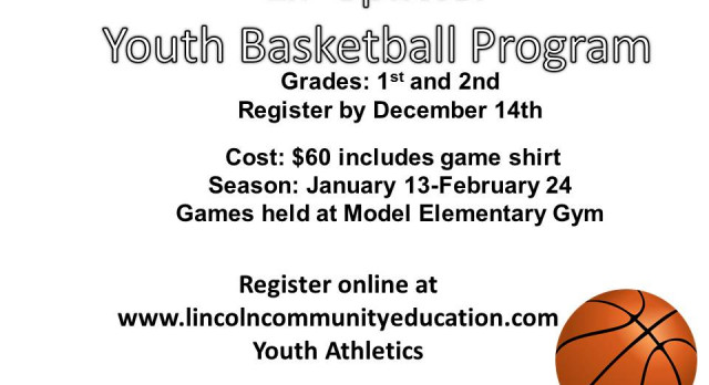 Don't miss out on the Lincoln Splitter Youth Basketball Program!