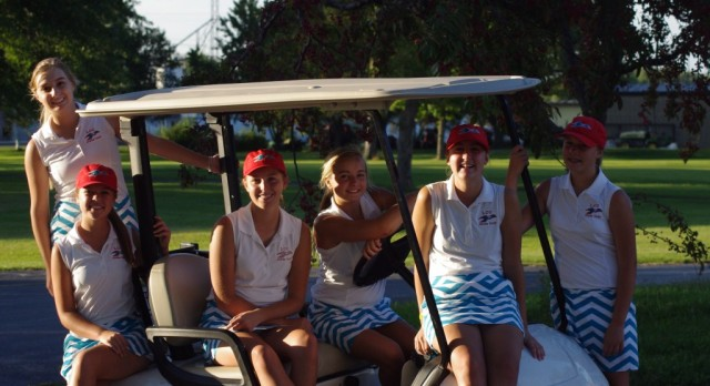 Girls Golf Knocks Off Wapak!