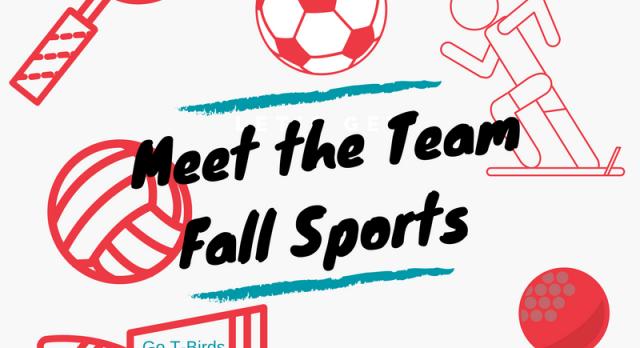 Fall Sport Meet the Team Night