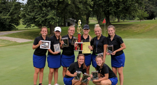 LCC Girls Golf Winners of the Allen County Invite.